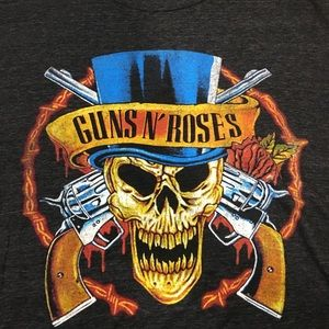Men's Guns N Roses graphic short sleeve shirt L